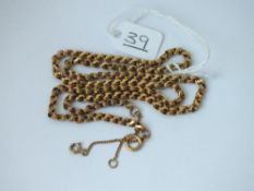 A GOOD GOLD NECK CHAIN - 10.1GMS