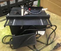 MODELERS TABLE SAW WITH 4'' BLADE