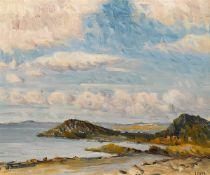 Charles Vincent Lamb RHA RUA (1893-1964) COASTAL SCENE, WEST OF IRELAND oil on board signed lower
