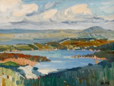 Charles Vincent Lamb RHA RUA (1893-1964) CARRAROE, COUNTY GALWAY oil on board signed lower right;
