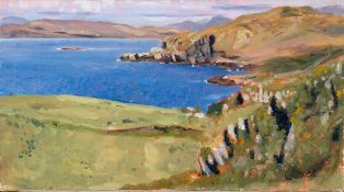 Blaise Smith RHA (b.1967) FROM GORTAGHIG TO CAHERKEEN, COUNTY CORK, 2008 oil on canvas signed,