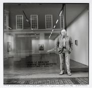 John Minihan (b.1946) LOUIS LE BROCQUY, MAYFAIR, LONDON, 2006 gelatin silver print signed and