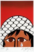 Robert Ballagh (b.1943) GAZA, 2009 print; (no. 93 from an edition of 300) signed, dated, titled