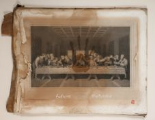 Eoin Llewellyn (b.1973) FUTURE HISTORIES mixed media signed lower right 21 by 26.50in. (53.3 by 67.