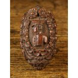 An 18th Century Carved Coquilla Nut.