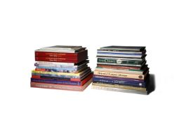 LITERATURE A COLLECTION OF REFERENCE BOOKS, EXHIBITION AND AUCTION CATALOGUES Mostly relating to