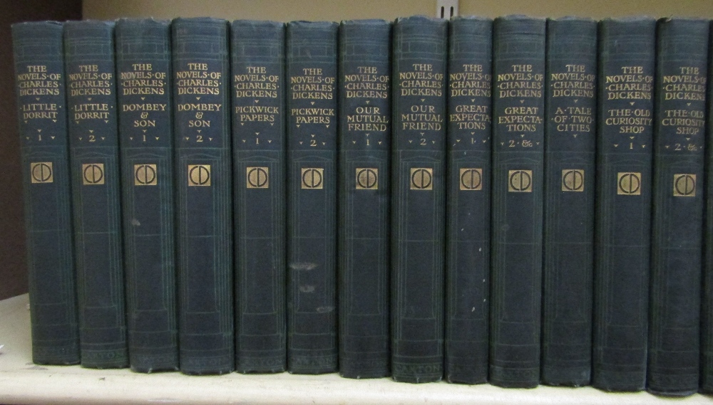 Lot 794 - The Works Of Charles Dickens (The London Edition) published by The Caxton Publishing Company, London