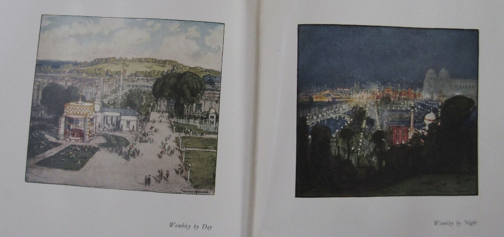 Lot 802 - A collection of topographical and travel books illustrated by Donald Maxwell and including some