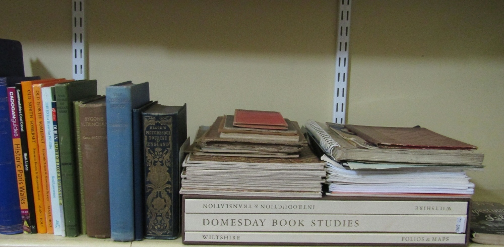 Lot 805 - A quantity of books about Bath and related subjects, a small number of British topographical