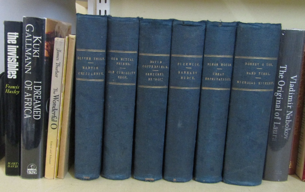 Lot 806 - A quantity of miscellaneous books, mainly literature and including, six volumes of the Works of
