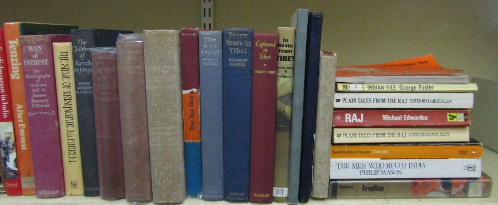 Lot 791 - An extensive and interesting collection of book about India and related subjects (approximately 45)