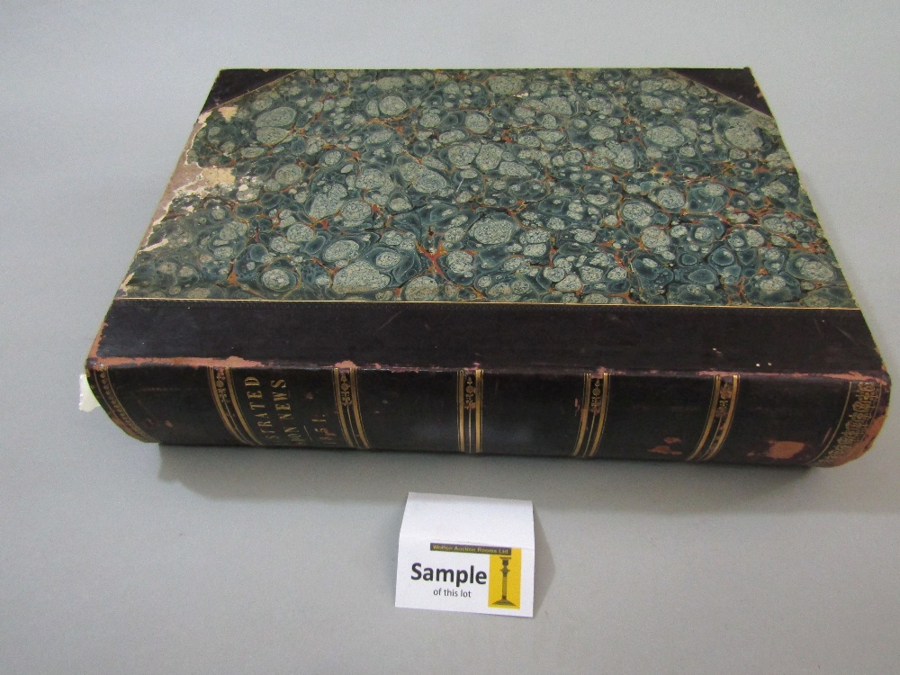 Lot 807 - A bound edition of The Illustrated London News, January to June 1851 (volume 18) which includes