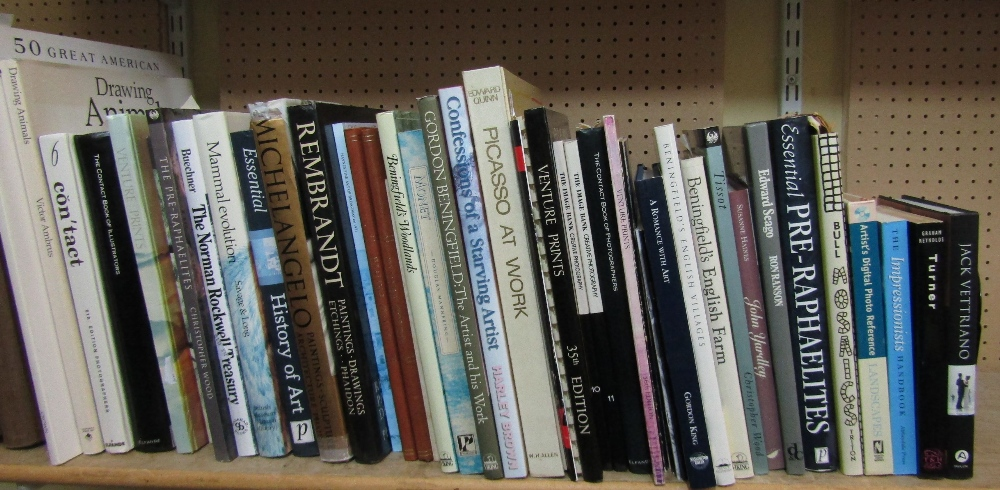 Lot 816 - A quantity of good quality art reference books (approx 40 volumes)