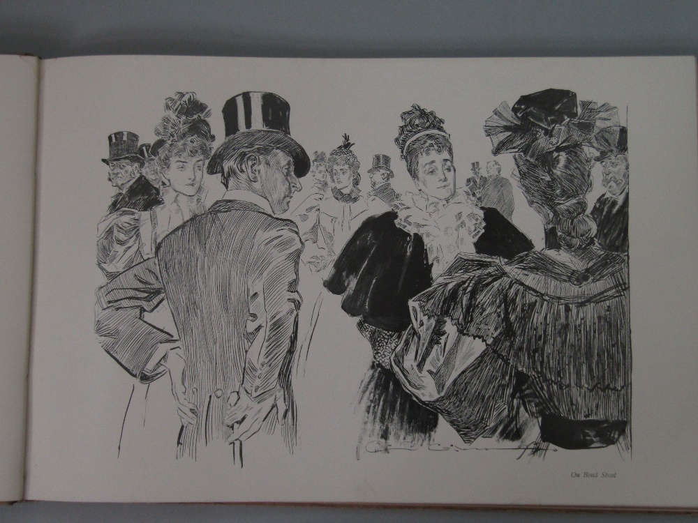 Lot 823 - London as seen by Charles Dana Gibson, published by John Lane, London 1898, The Adventures of Gil