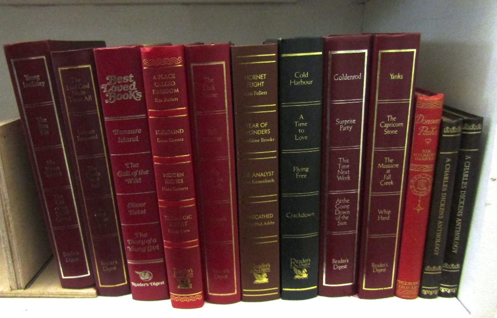Lot 819 - A quantity of mixed books including The Waverley Novels, published by Adam and Charles Black 1874, a