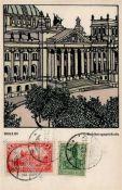 Kunst u. Kultur,Kunst,Wiener WerkstaettenWiener Werkstätte 438 Kalhammer, Gustav Reichstagsgebäude