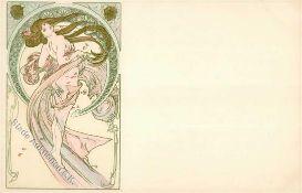 Kunst u. Kultur,Berühmte Maler,MuchaMucha, Alfons Danzing I-IIDieses Los wird in einer online-