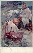Kunst u. Kultur,Berühmte Maler,MuchaMucha, A. Blahoslaveni Chudi Duchem Künstlerkarte I-IIDieses Los