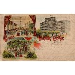 Görlitz (O8900) Gasthaus Wiener Cafe Billard 1906 II (Randeinkerburg, Stauchung)Dieses Los wird in