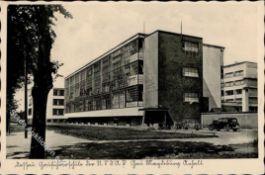 Kunst u. Kultur,Malerei,BauhausBauhaus Dessau (O4500) WK II Gauführerschule der NSDAP Gau