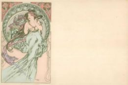 Kunst u. Kultur,Berühmte Maler,MuchaMucha, Alfons Musik I-IIDieses Los wird in einer online-