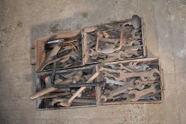 Qty Spanners, Hammers, Etc