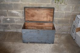 Wooden Linen Box