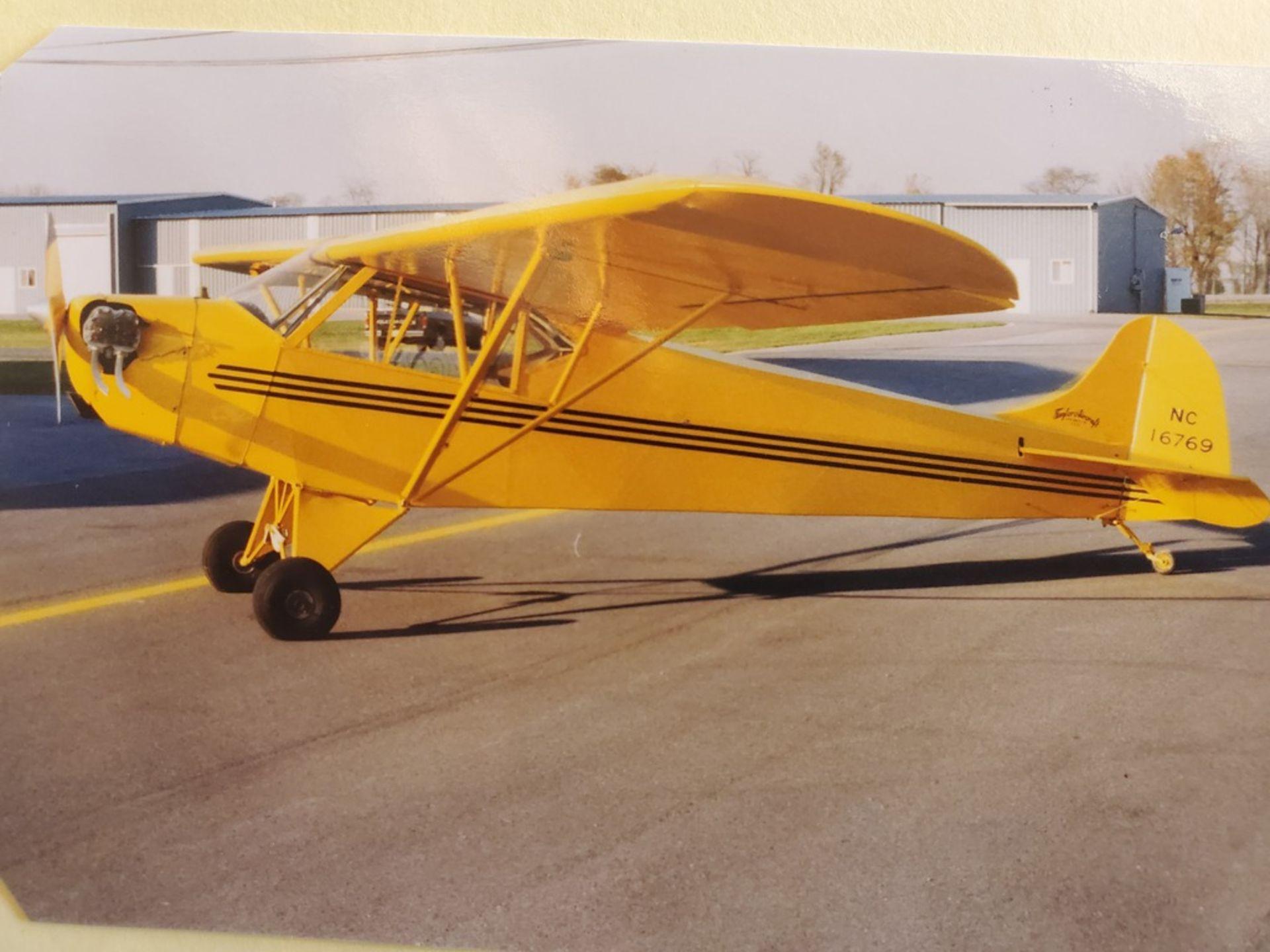 1936 TAYLOR/PIPER J2 CUB N16769 S/N 771