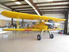 1937 BOEING A-75 STEARMAN N63378 S/N/ 75-254
