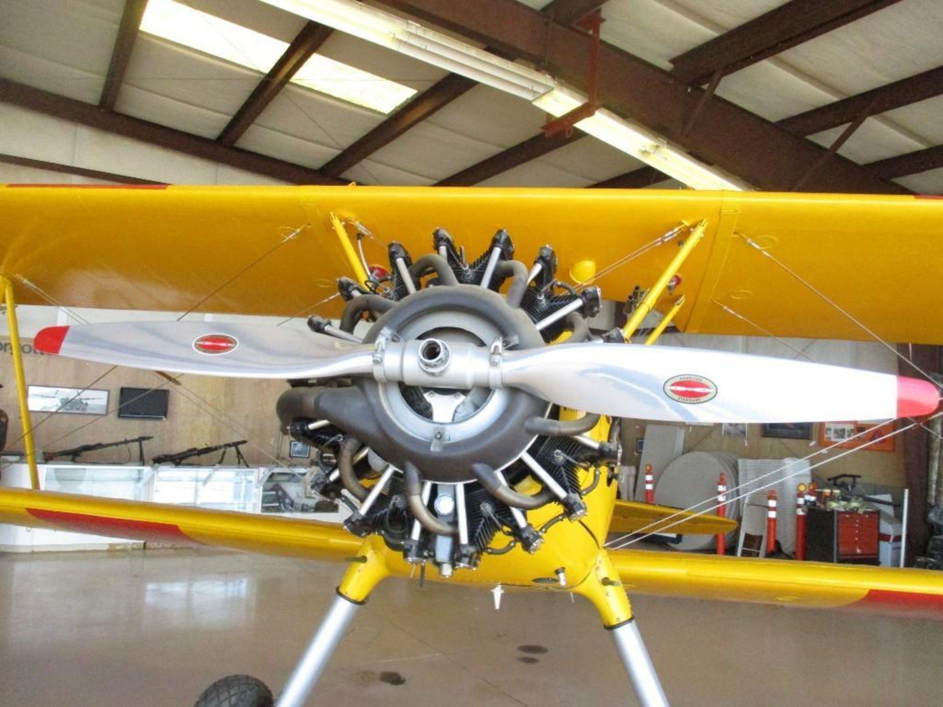 1937 BOEING A-75 STEARMAN N63378 S/N/ 75-254 - Image 5 of 7