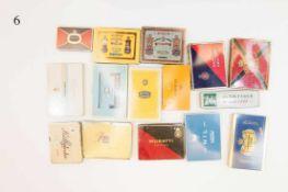 Konvolut 23 alte Zigarrenschachteln