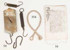 Heiratratsurkunde, Salzburg 1753