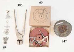 Braun's Patent Sicherheits Bügelschloss<