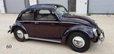 """VW Käfer """"Bretzelkäfer"""" 1949"""