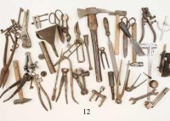 Konvolut altes Werkzeug