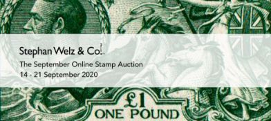 THE SEPTEMBER ONLINE STAMP AUCTION