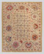 All Silk Bukhara Style Suzani