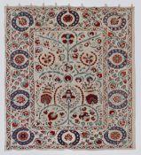 Large Adras Ottoman Design Suzani