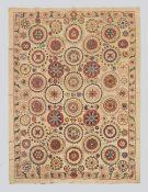 All Silk Samarkand Suzani 'The Planets'