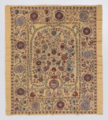 All Silk Persian Carpet Design Suzani