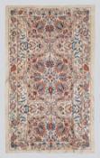 All Silk Royal Ottoman Carpet Design with Tulips