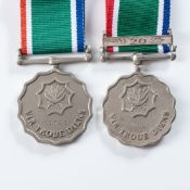 SOUTH AFRICAN NATIONAL DEFENCE FORCE LONG-SERVICE AND GOOD CONDUCT MEDALS