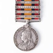 BOER WAR QUEEN'S SOUTH AFRICA MEDAL TO THE IMPERIAL YEOMANRY (ROYAL EAST KENT YEOMANRY).