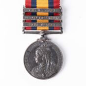 BOER WAR QUEEN'S SOUTH AFRICA MEDAL TO SOUTH AFRICAN CONSTABULARY