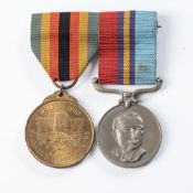 RHODESIAN BUSH WAR GROUP WITH ZIMBABWE MEDALS TO THE BSAP RESERVE