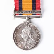 BOER WAR QUEEN'S SOUTH AFRICA MEDAL TO PRINCE ALFRED'S VOLUNTEER GUARD
