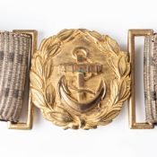 IMPERIAL GERMAN NAVY (KAISERLICHE MARINE) OFFICER'S BROCADE PARADE BELT