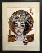 Brook Dye Works by Hazard
