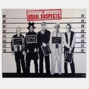 The Usual Suspects- Basquiat Crown Edition by Catman