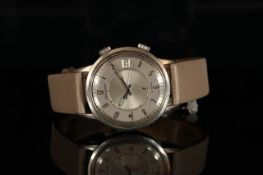 GENTLEMENS JAEGER LECOULTRE MEMOVOX SPEED BEAT WRISTWATCH W/ BOX & PAPERS REF. 1340292, circular two